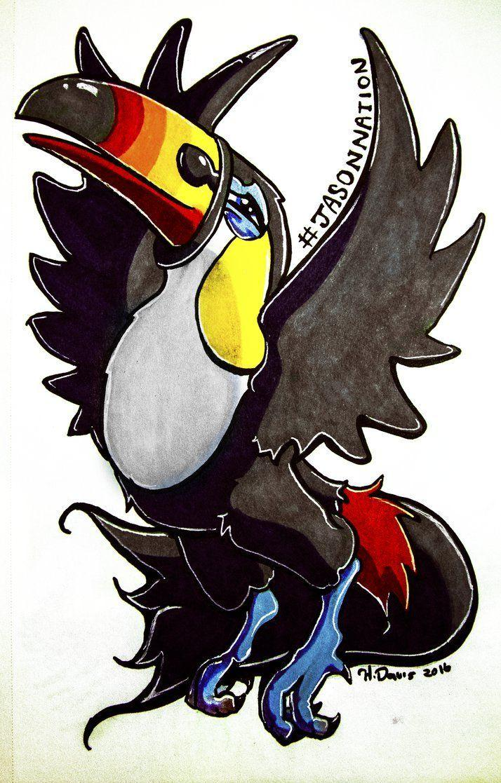 Toucannon for JasonNation by Chrishankhah.deviantart on