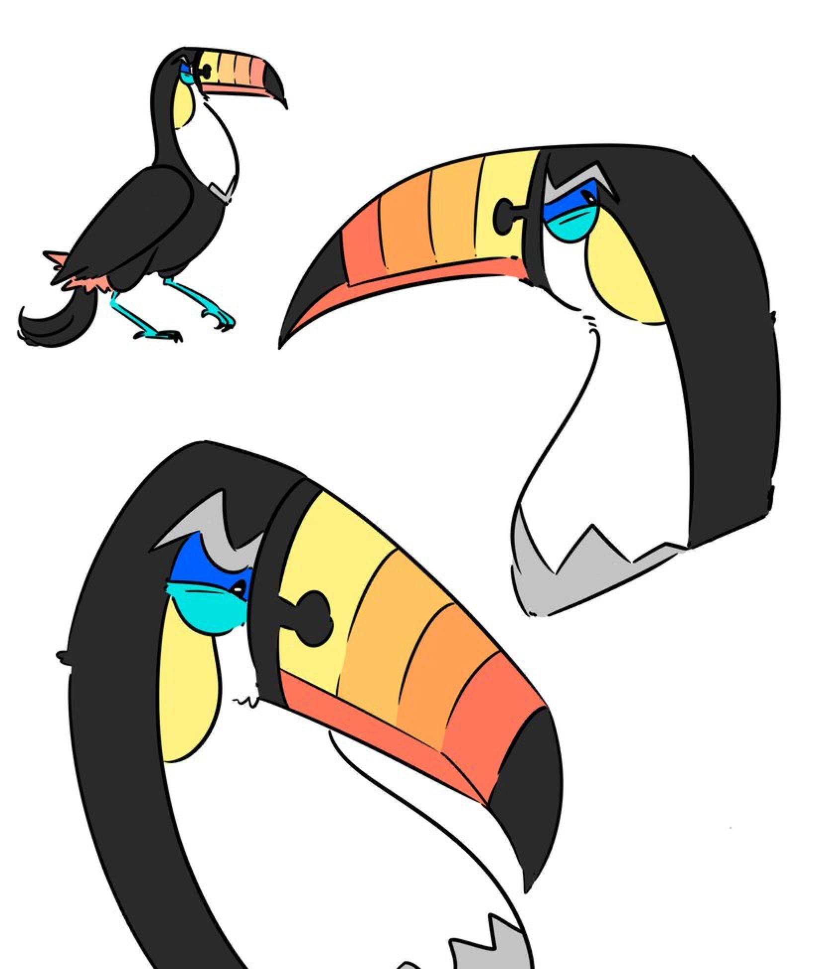 Toucannon Doodles by OwlCreme on @DeviantArt