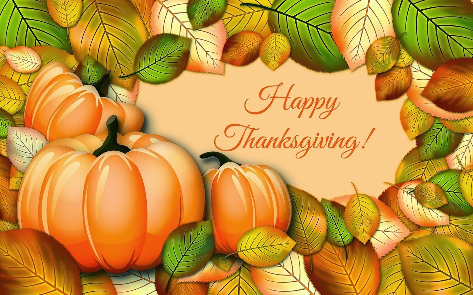 Happy Thanksgiving Day HD Wallpapers | HD Wallpapers | Pinterest ...