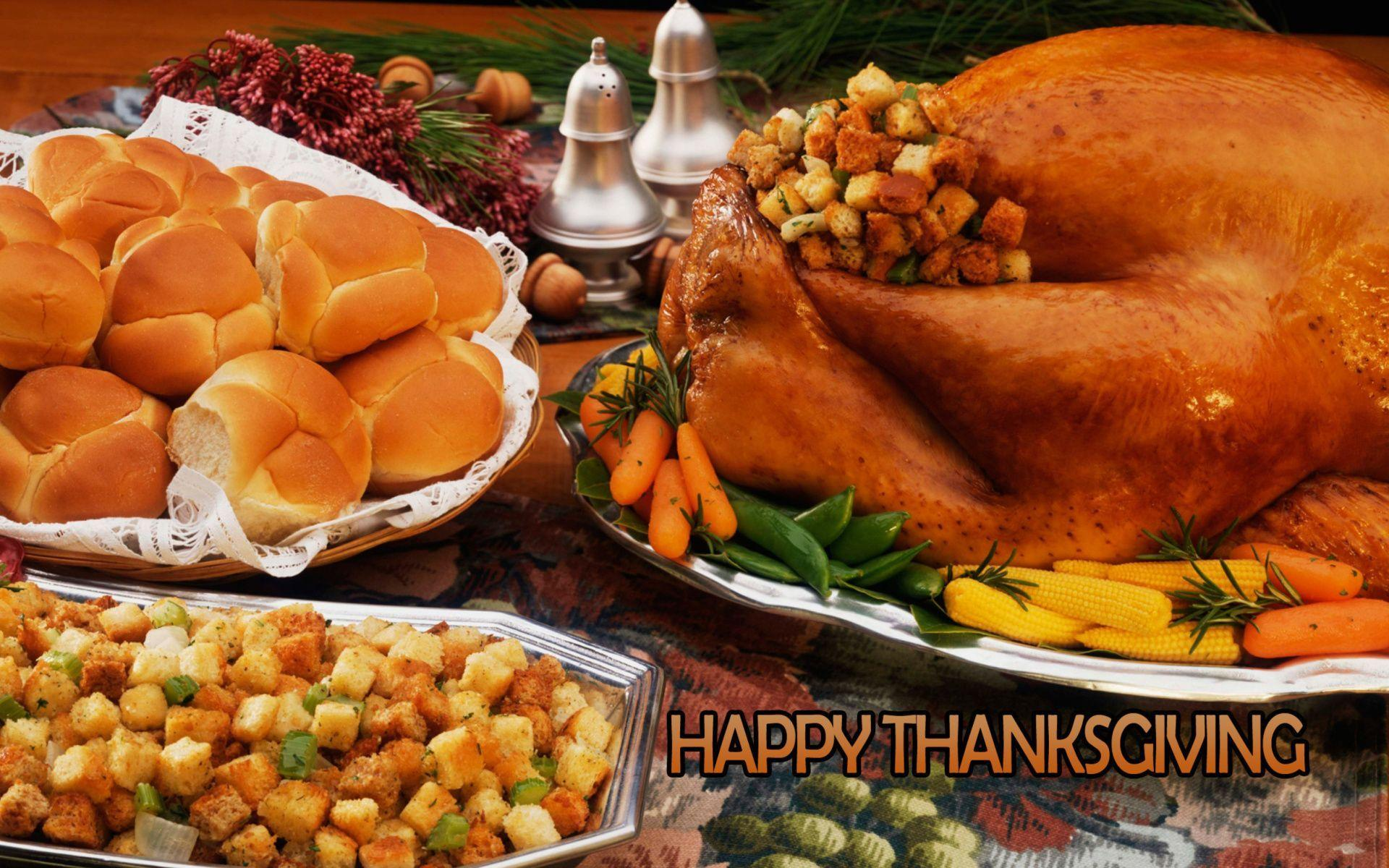 Thanksgiving Dinner Wallpaper - Shared by Sung | Szzljy