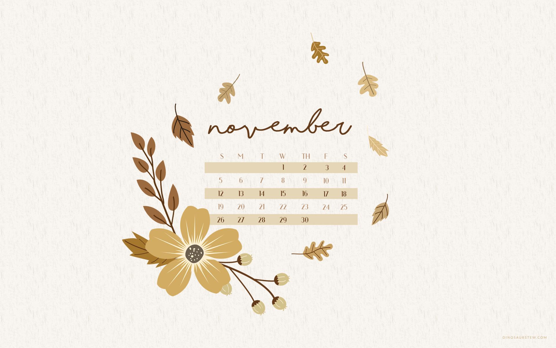 November 2018 Calendar Wallpapers Wallpaper Cave