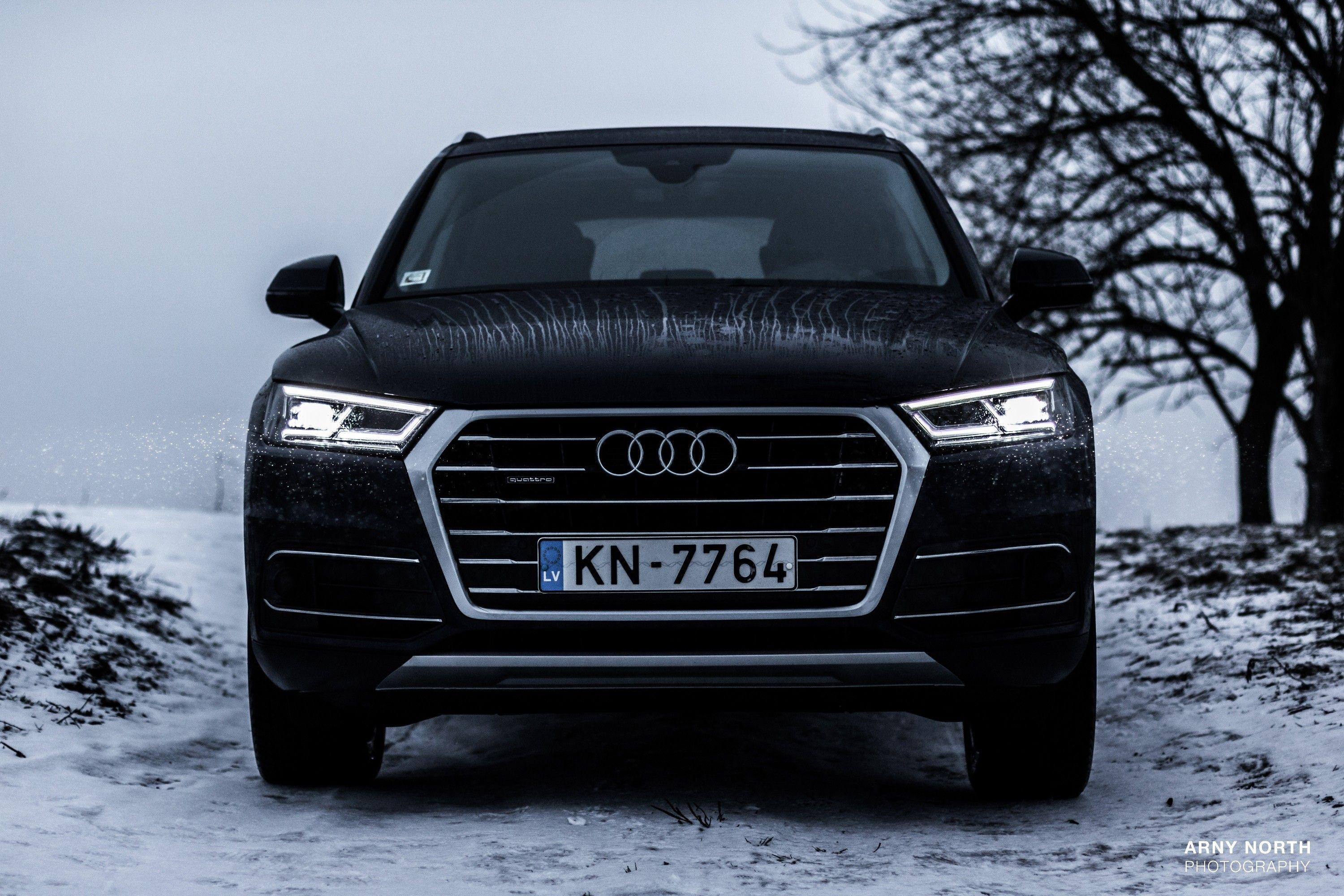 audi q5 audi quattro snow latvia arny north wallpaper and background