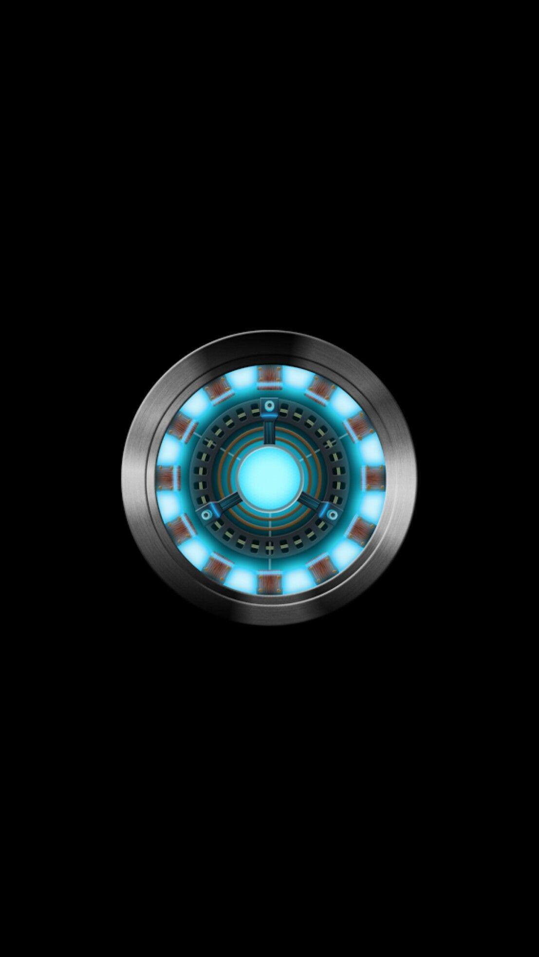 91 Iron Man Arc Reactor Live Wallpaper