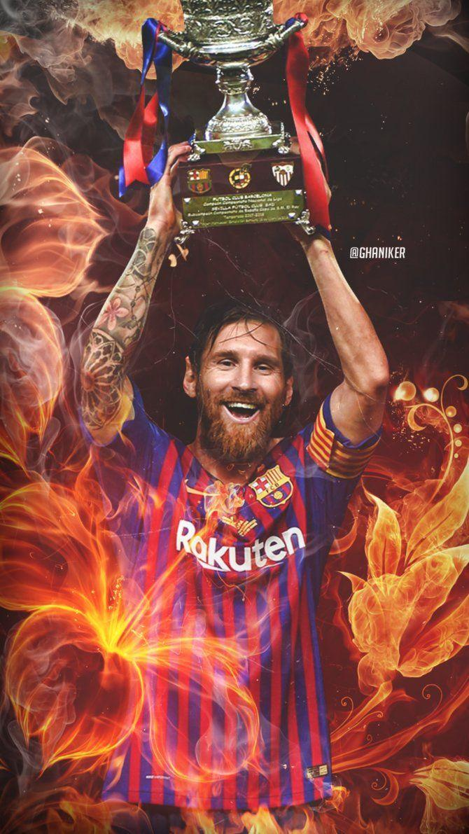 Lionel Messi Lockscreen 2018/19 by Ghanibvb on DeviantArt
