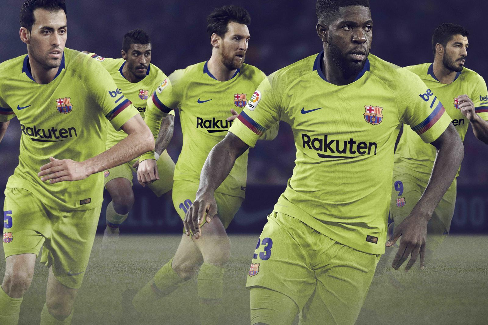 FC Barcelona Away Kit 2018-19 - Nike News