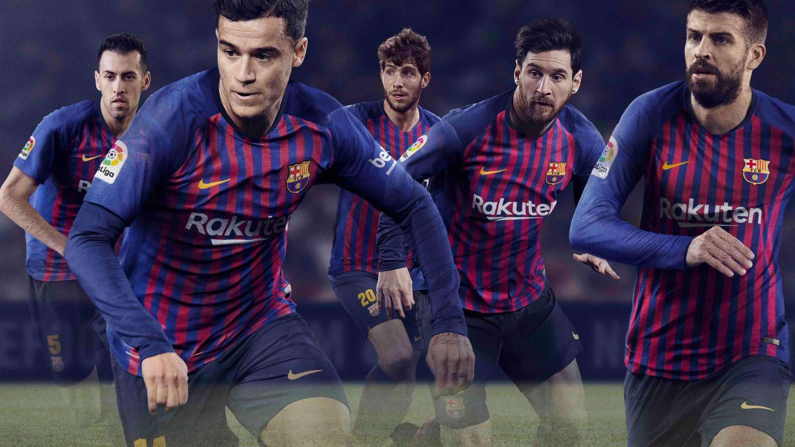 Barcelona: La Liga champions release home kit for next season ...