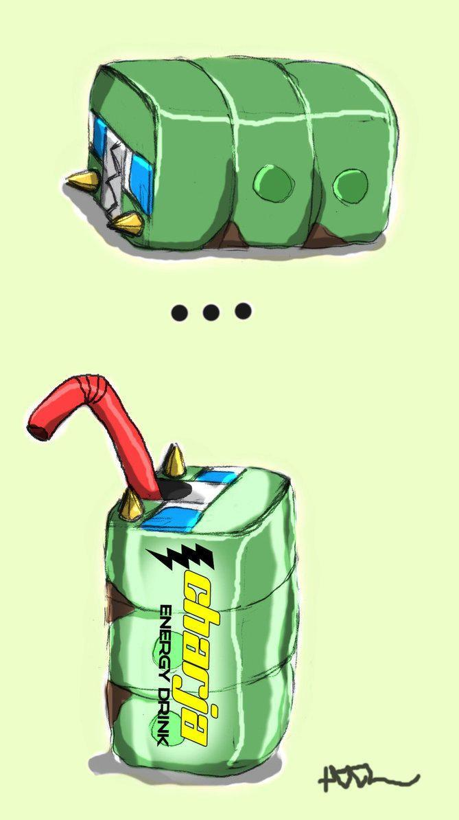 Charjabug Energy Drink... Keeps you going | Pokémon | Know Your Meme