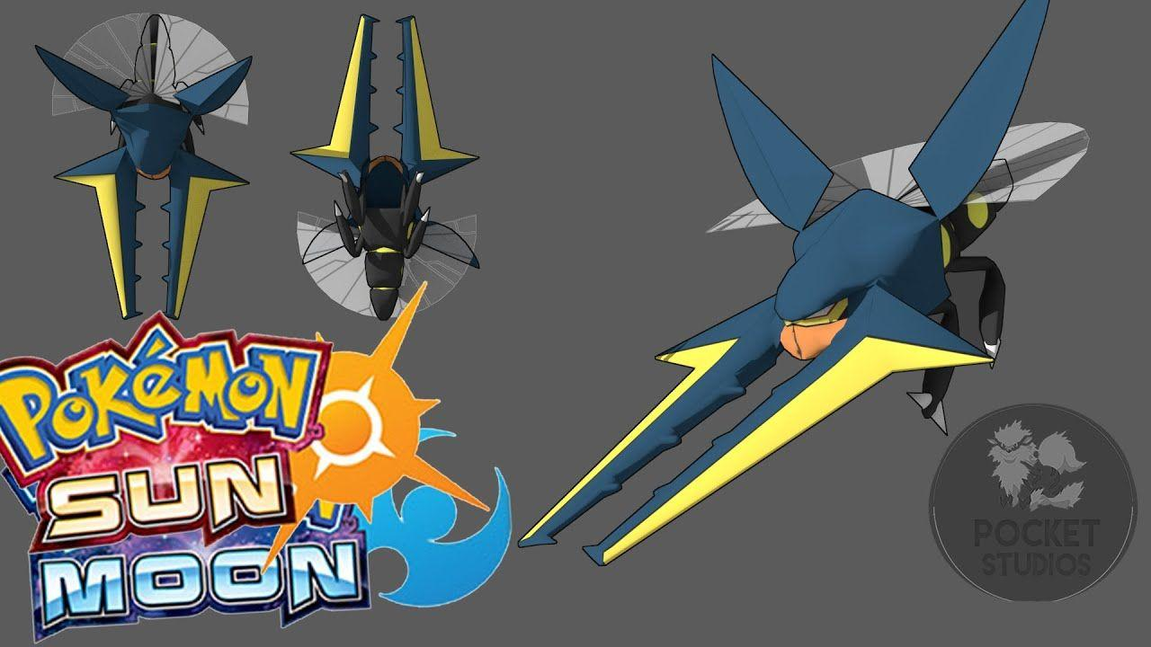 Vikavolt 3D Model! with Pokemon Sun and Moon Discussion - 3D ...