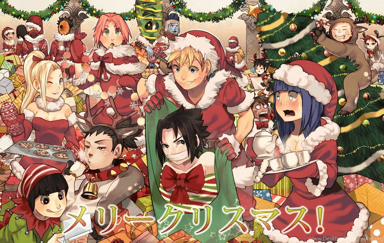 Anime Christmas Wallpaper.Anime Christmas Wallpapers Wallpaper Cave