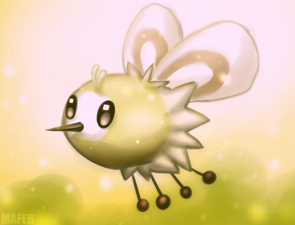 Cutiefly Pokemon by Mafer on DeviantArt