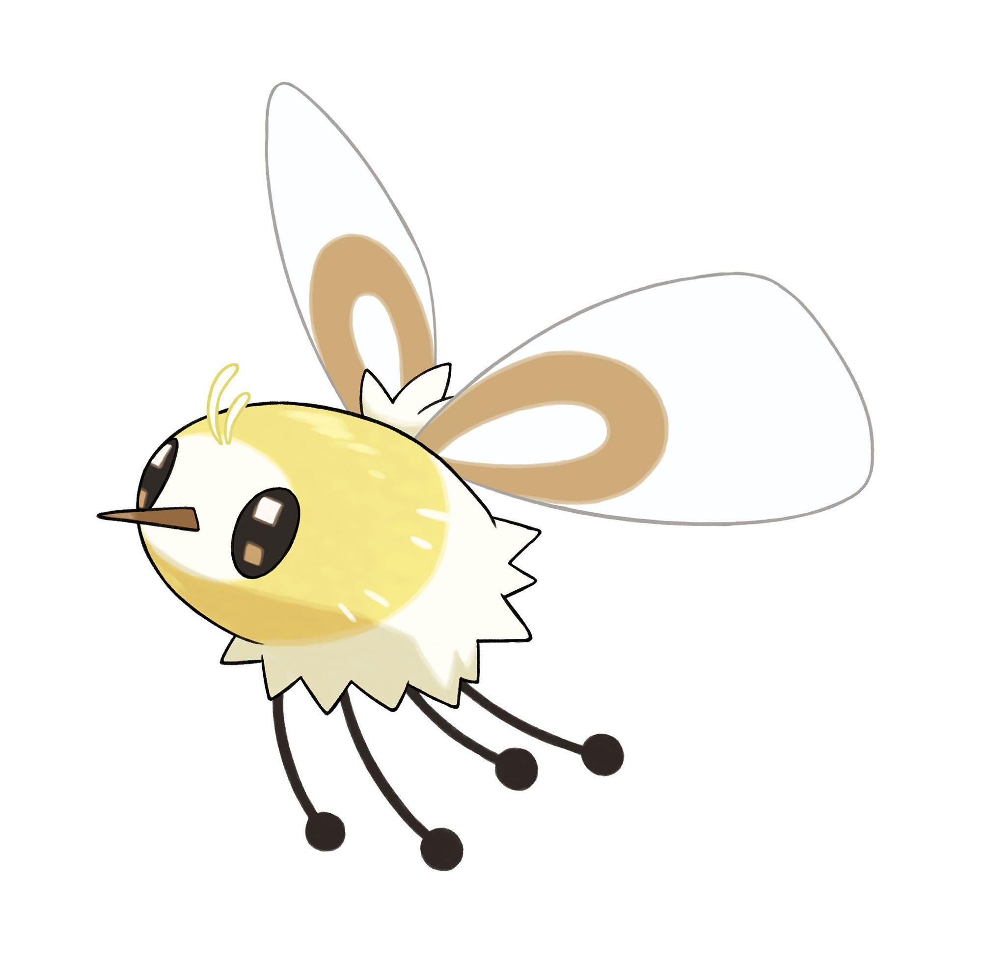 Pokemon Sun and Moon Cutiefly