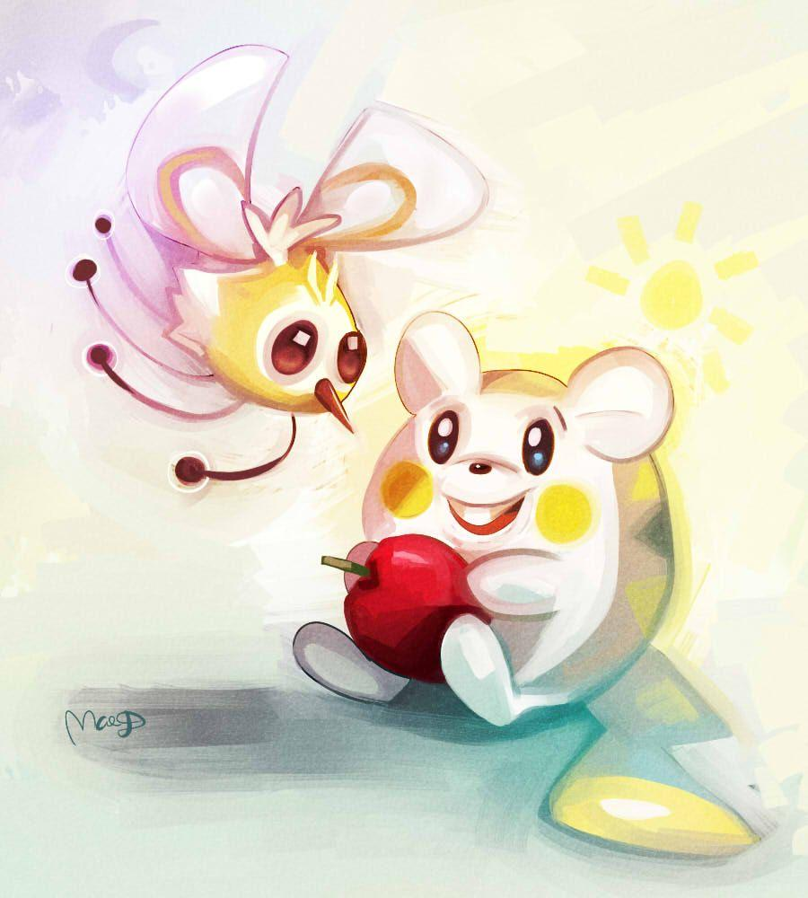 Cutiefly and Togedemaru by CaramelFrog on DeviantArt