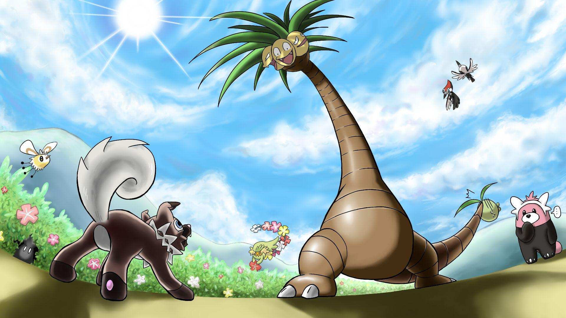An Alolan Battle | Alolan Exeggutor | Know Your Meme