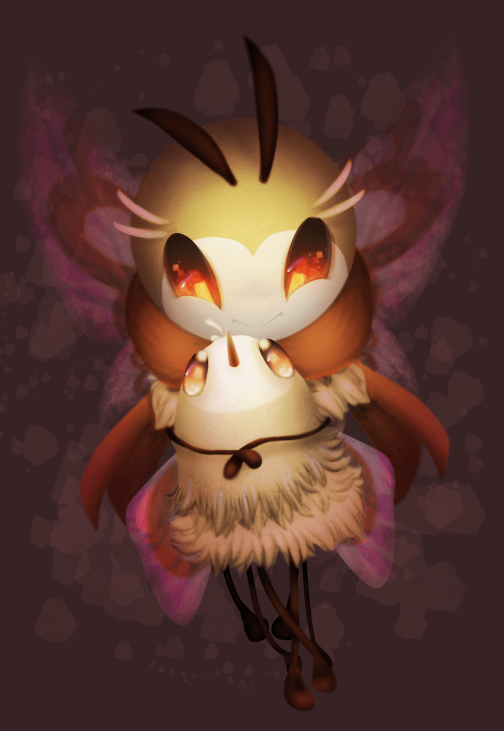 Cutiefly and Ribombee by y0waifu on DeviantArt
