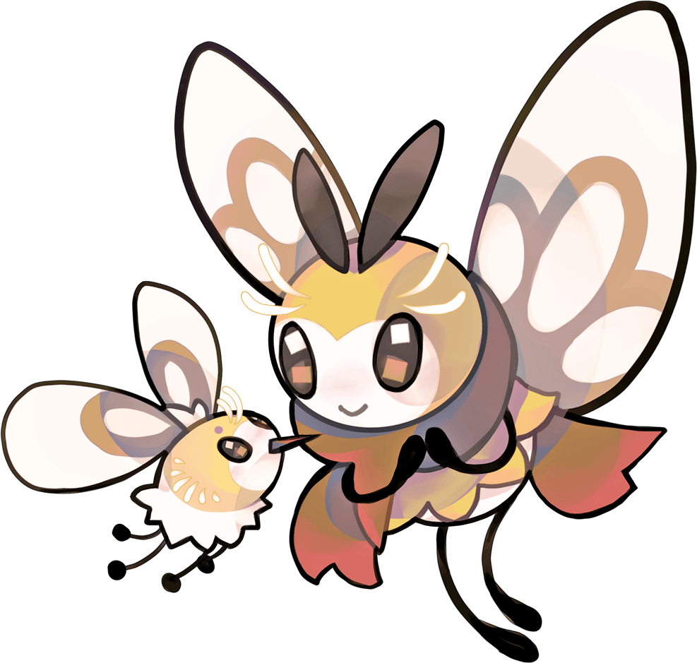 Cutiefly and Ribombee