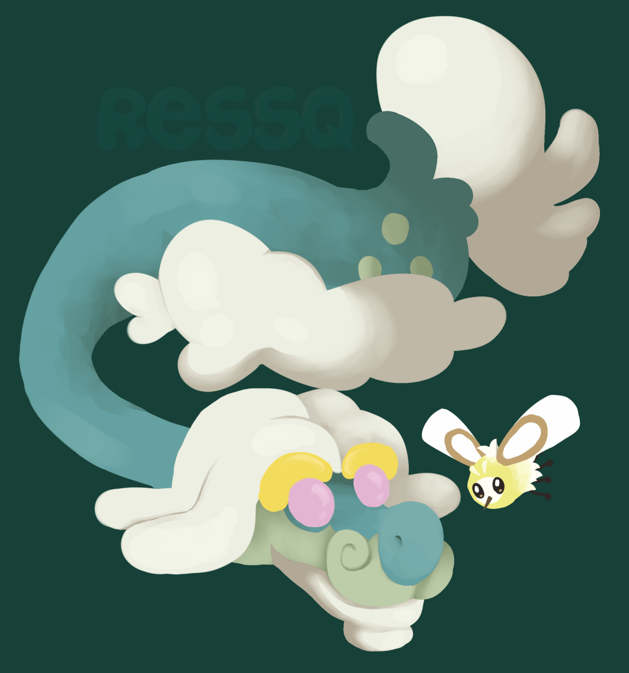 Drampa and Cutiefly | Pokemon 2 | Pinterest | Pokémon