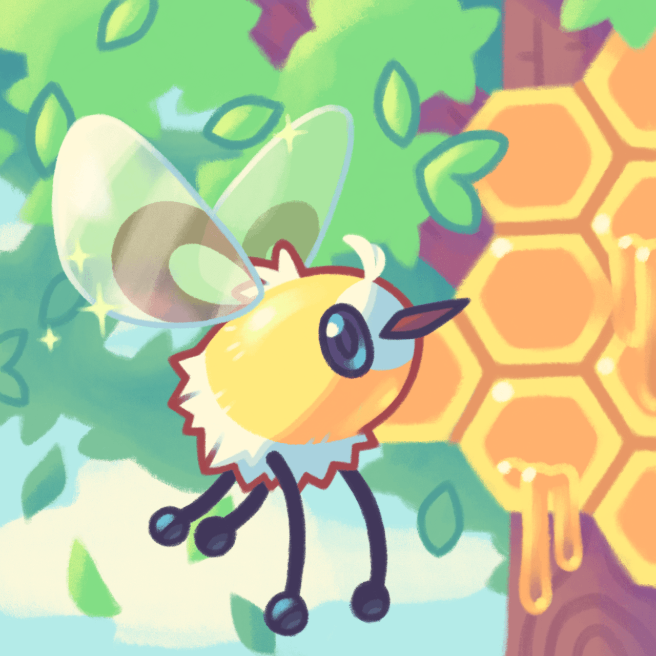 "Cutiefly "" Reworked Cutiefly a bit and made a background to fit in ..."