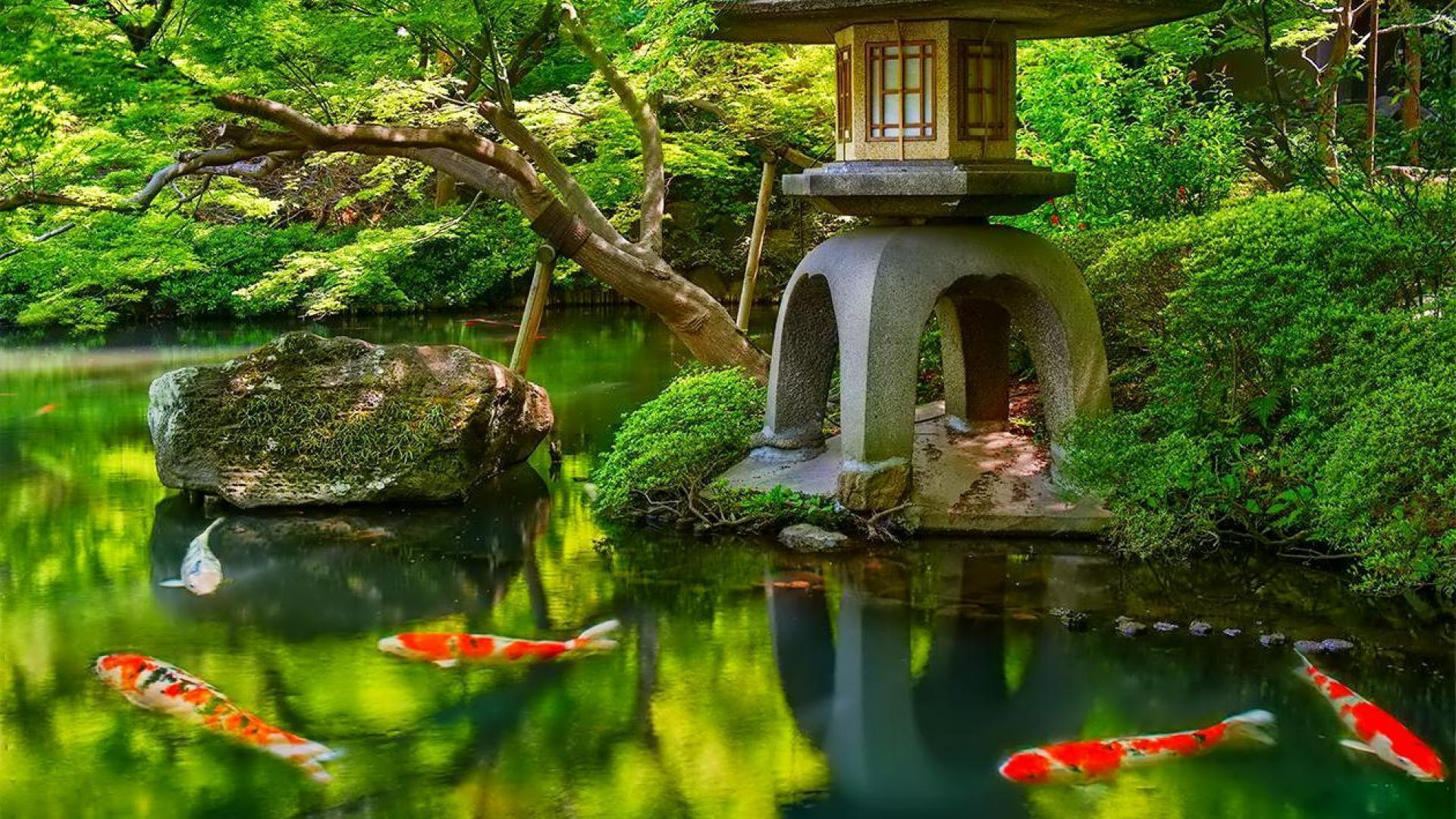 Japanese Garden Wallpapers: Tea Garden Wallpapers