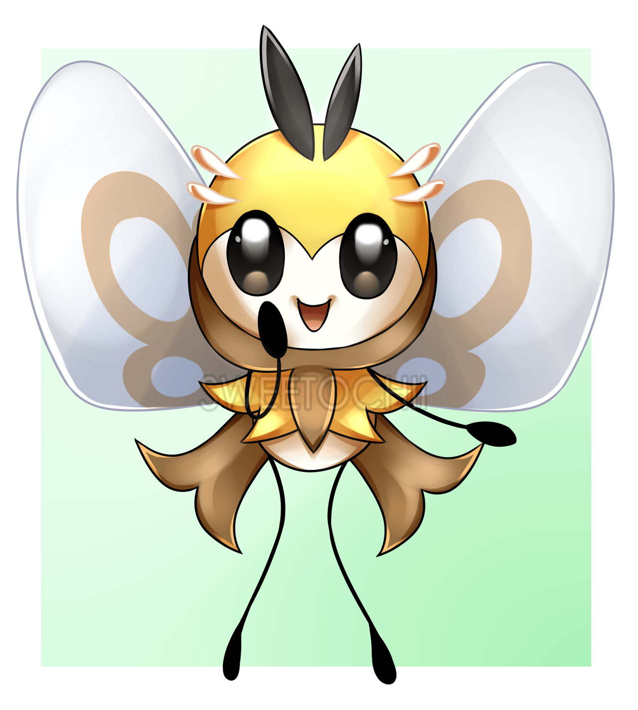 F] Ribombee by Sweetochii