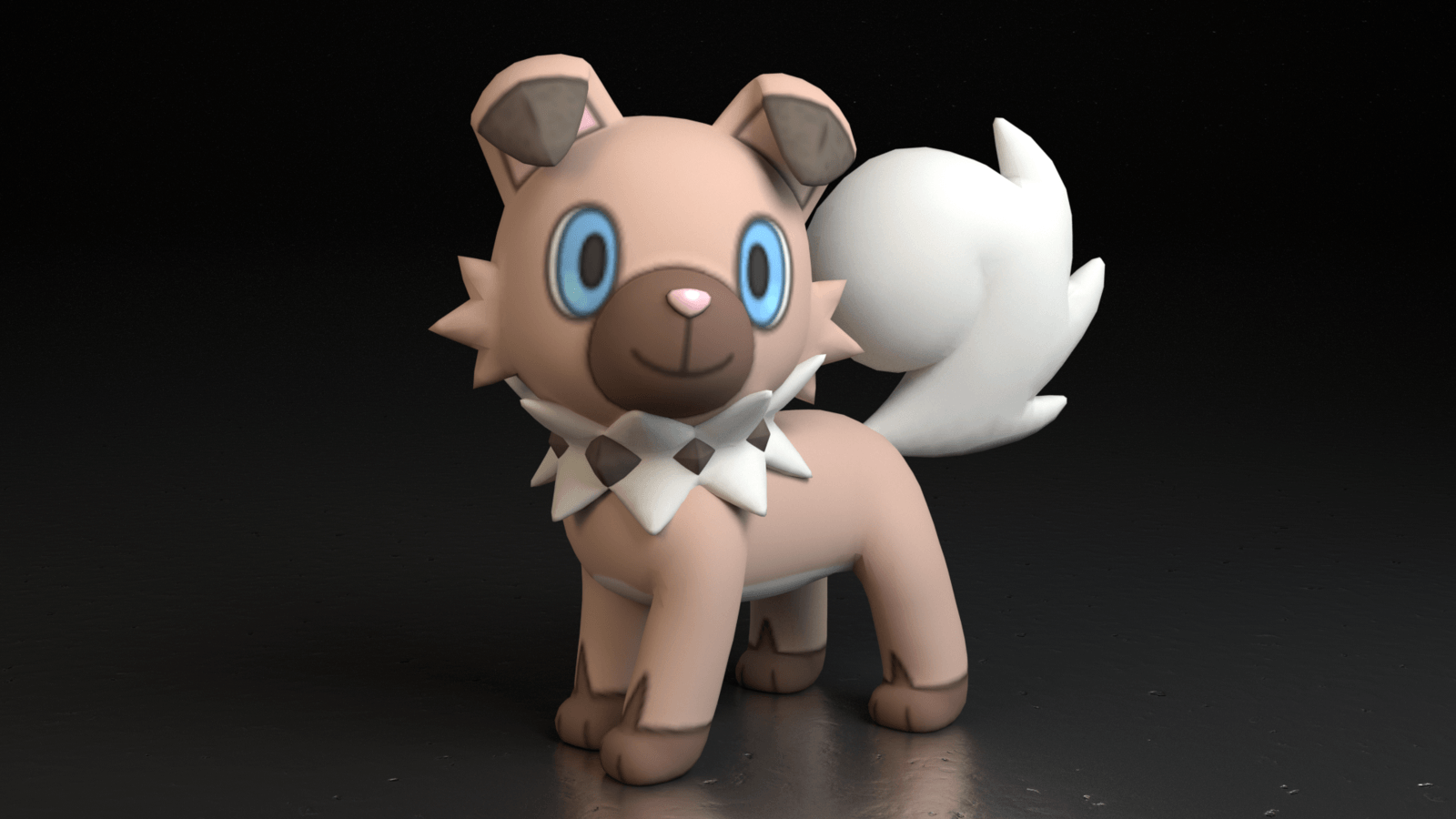 744. Rockruff by TheAdorableOshawott on DeviantArt