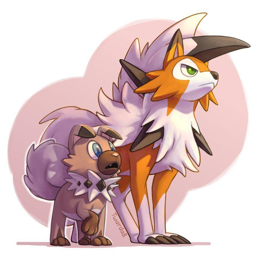 COM: Rockruff and Lycanroc by Twarda8.deviantart.com on @DeviantArt ...