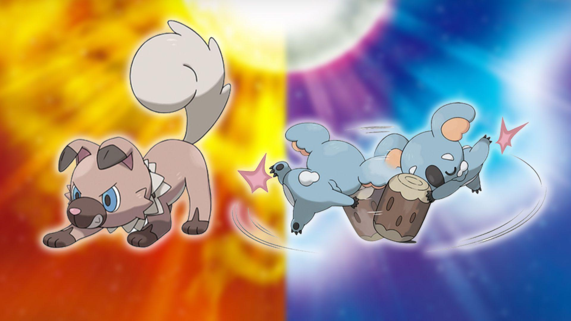 Rockruff and Komala are the two cutest new additions to Pokémon Sun