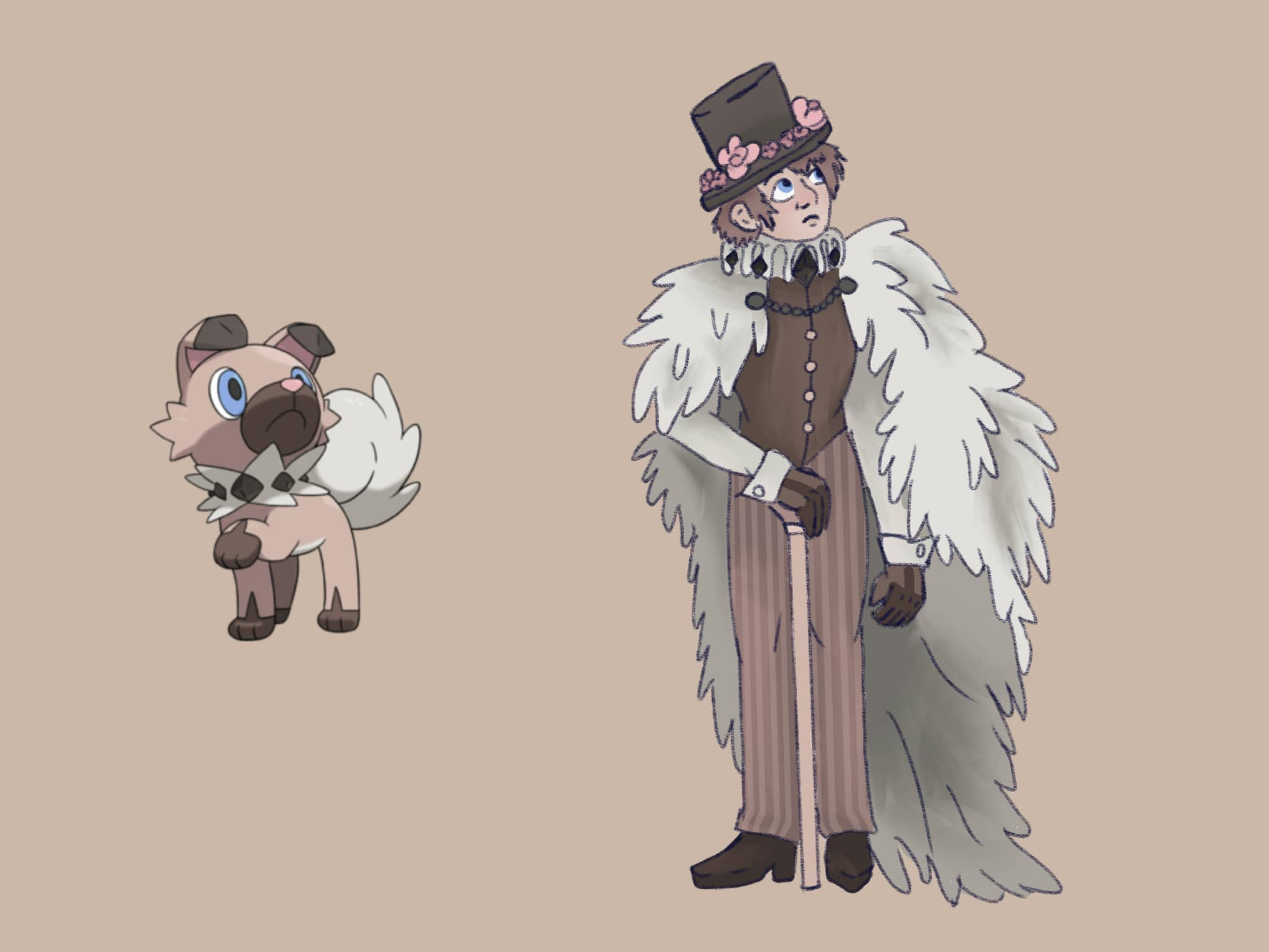 Character Design- Rockruff by Misc-collecter on Newgrounds