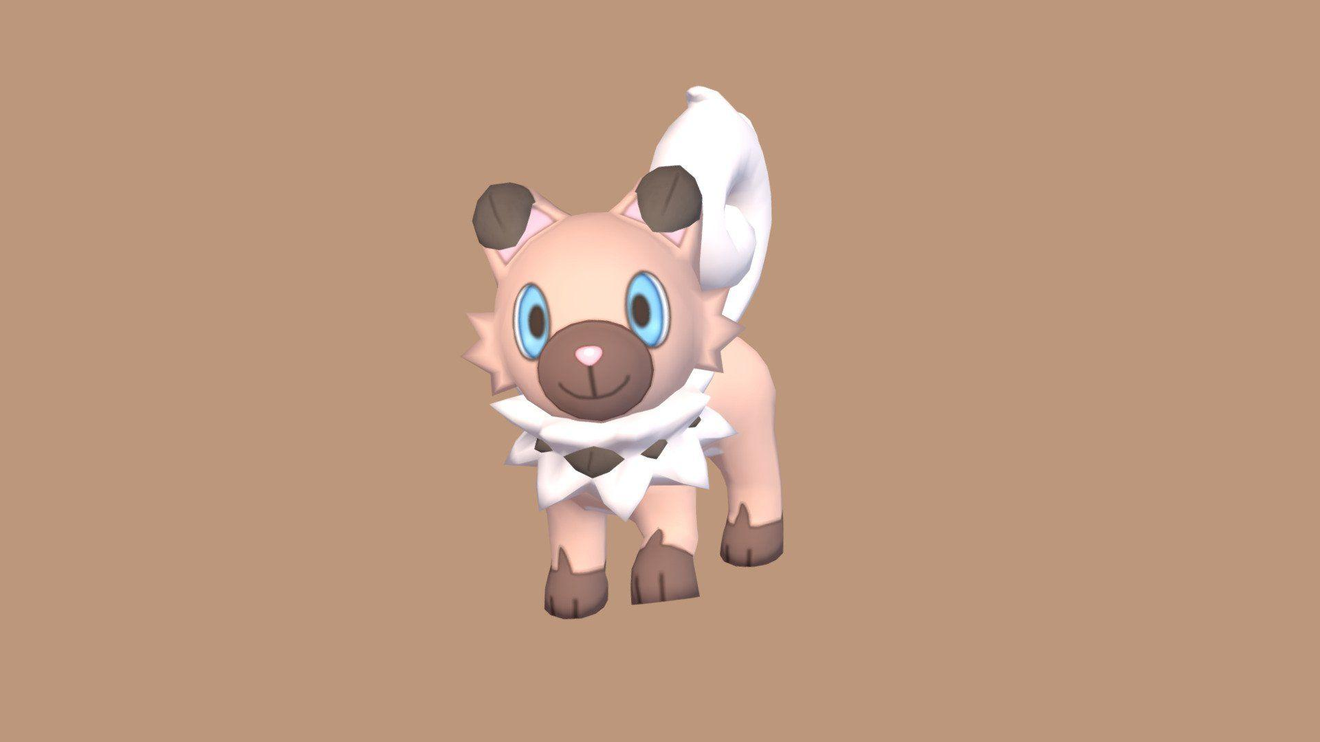 Rockruff (Pokemon Sun & Moon) - 3D model by SGRM (@SGRM) - Sketchfab