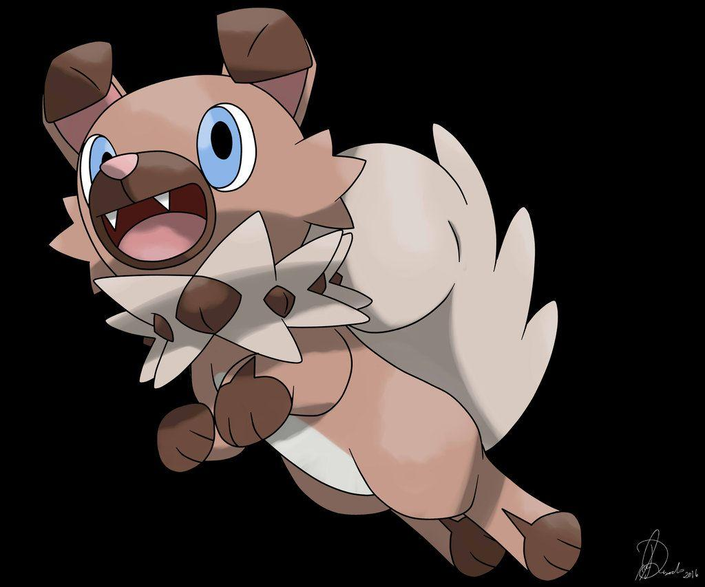 Rockruff - (Iwanko) - New released Pokemon by godzilla1030 on DeviantArt