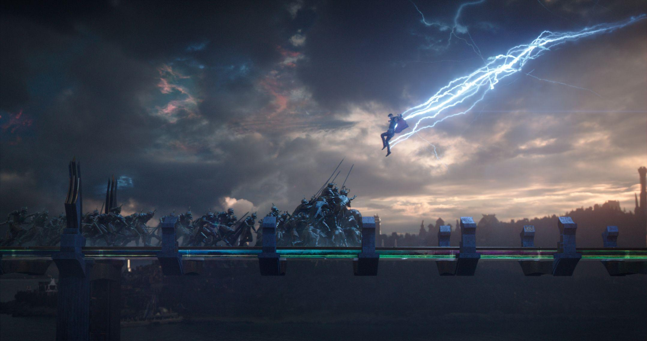 Thor Ragnarok Lightning Wallpapers - Wallpaper Cave