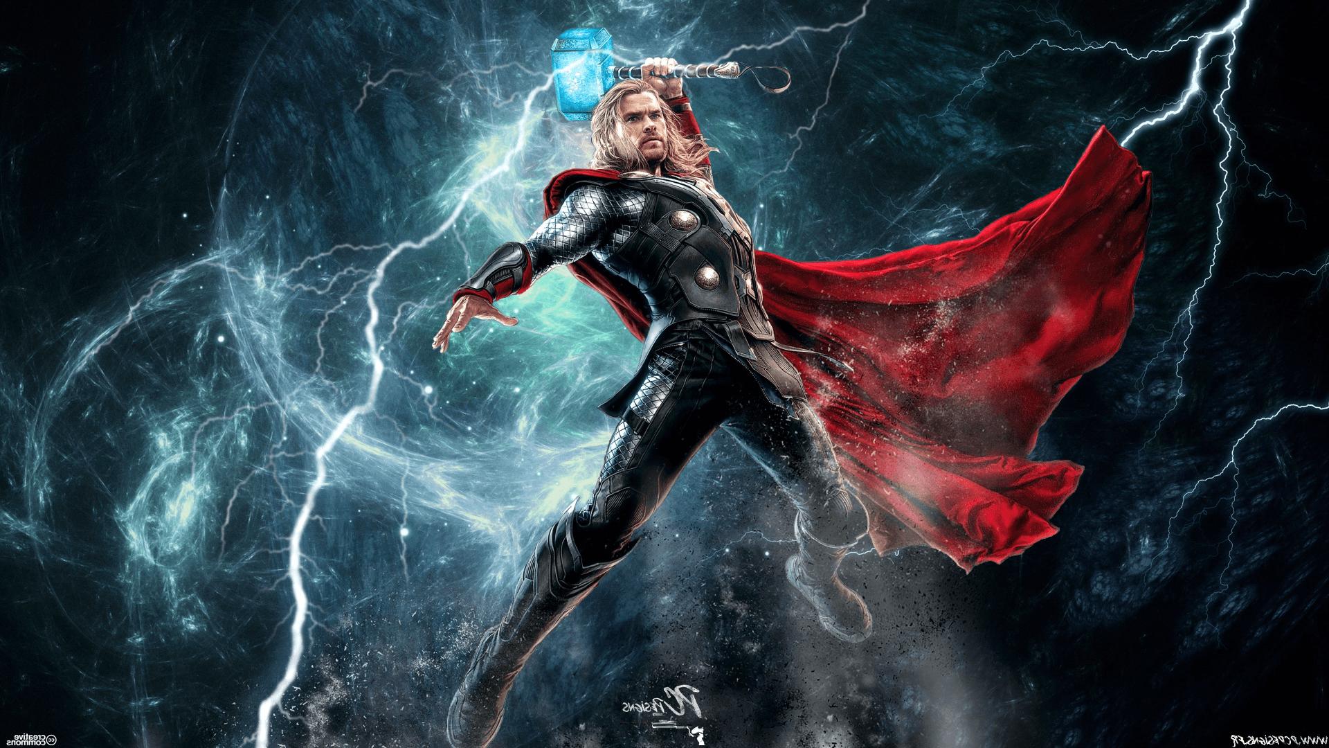 Thor Ragnarok Lightning Wallpapers - Wallpaper Cave