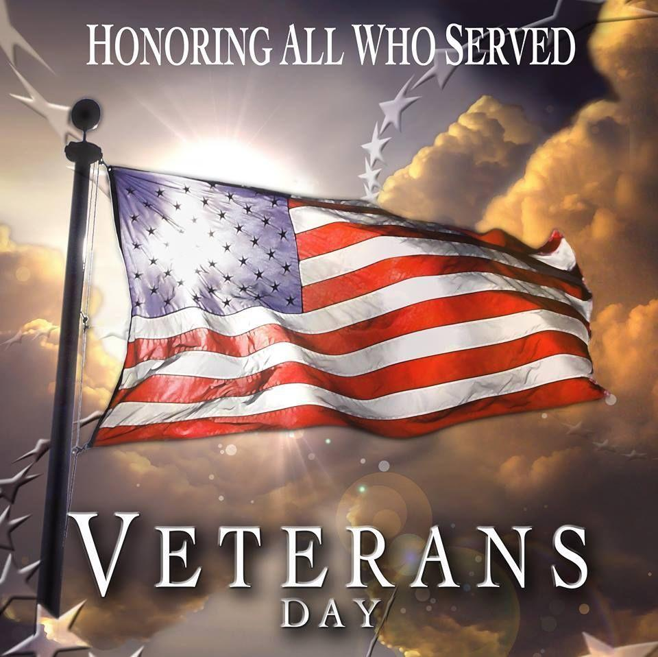 Honoring All Who Served Veterans Day | Red White & Blue ...