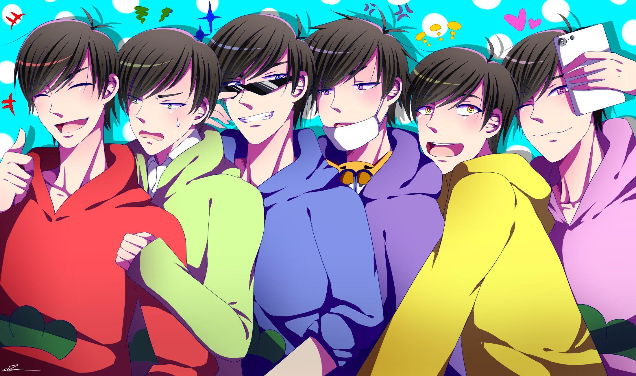 Osomatsu Kun Wallpapers Wallpaper Cave