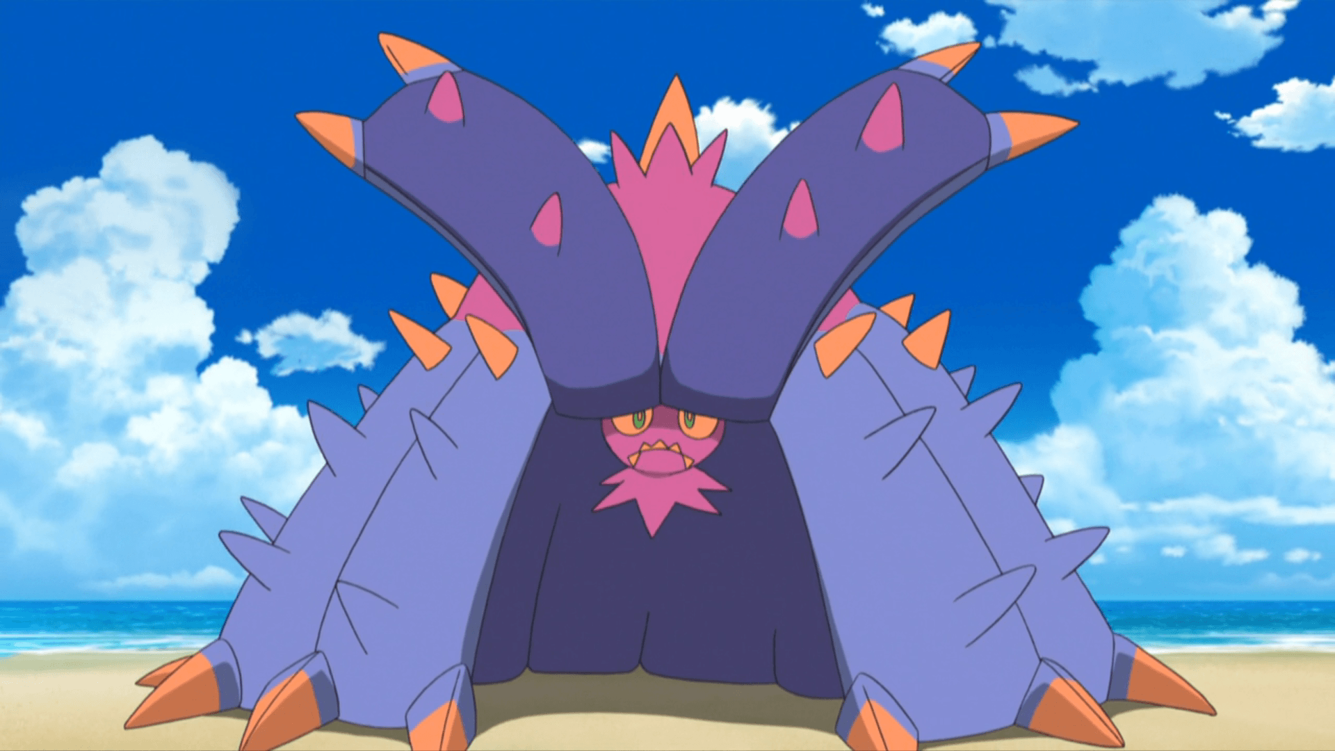 Toxapex (SM058) | Pokémon Wiki | FANDOM powered by Wikia