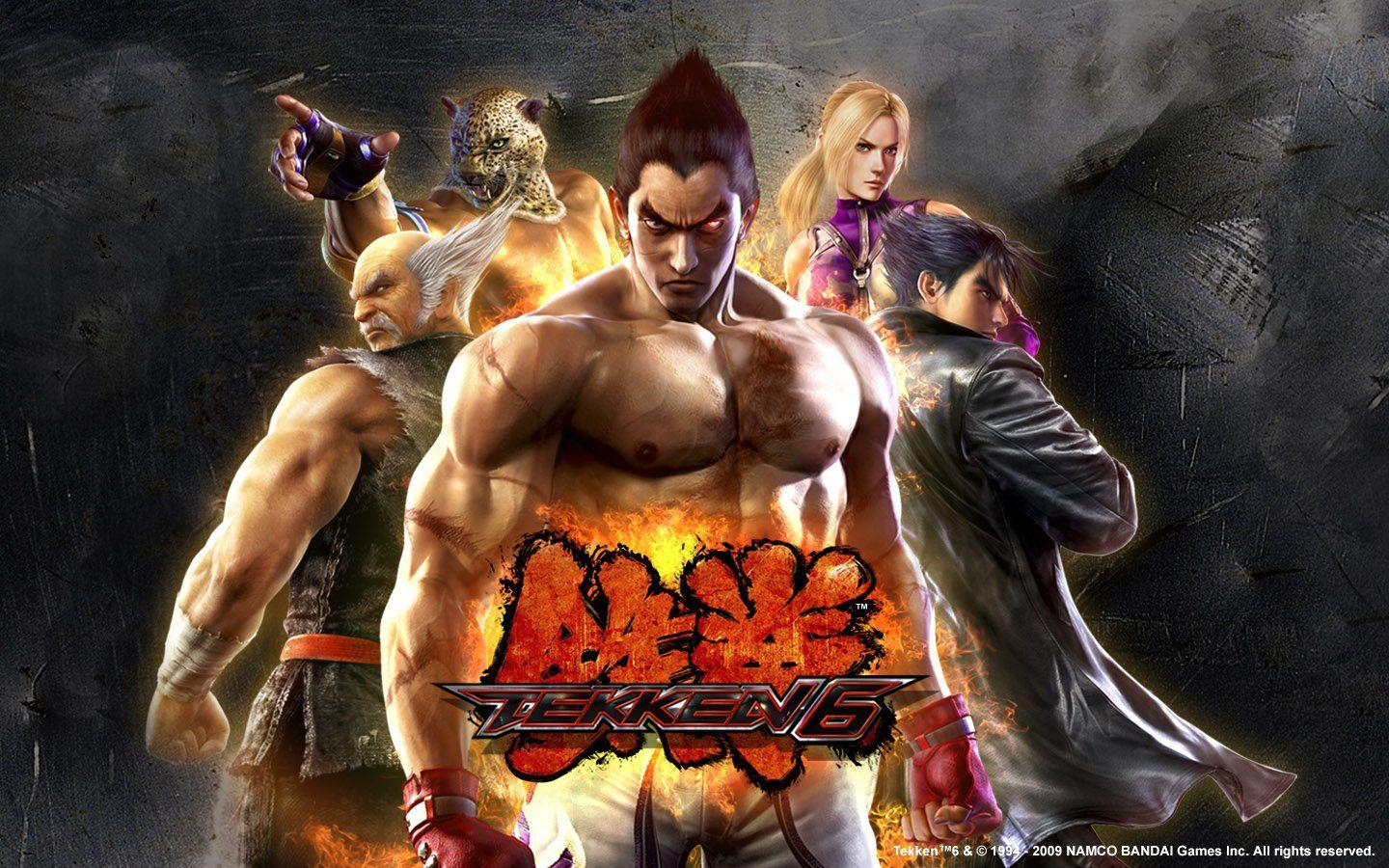 King Tekken 6 Kazuya Mishima Nina Williams wallpaper | 1440x900 ...