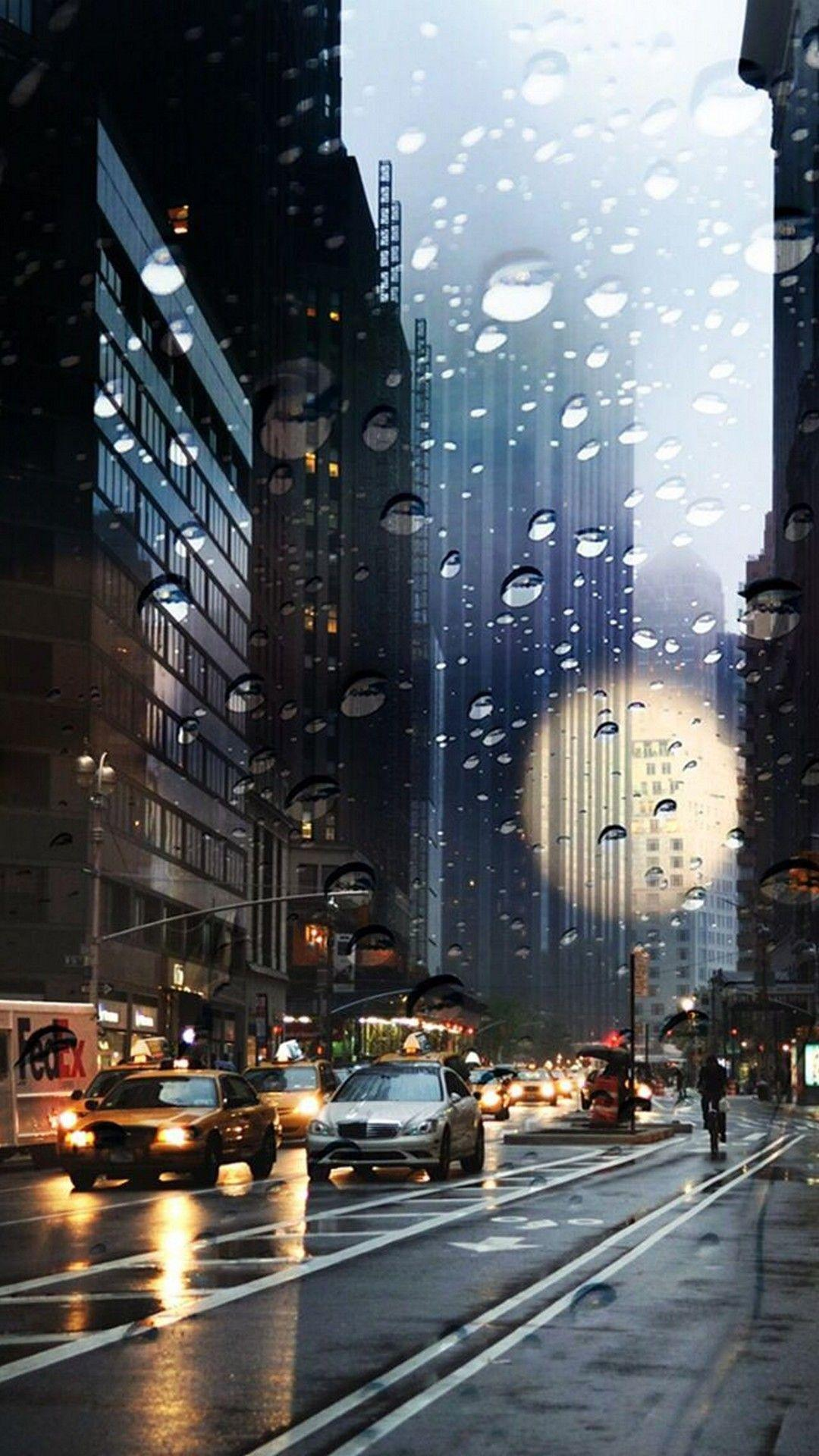 City Rain Wallpapers Wallpaper Cave