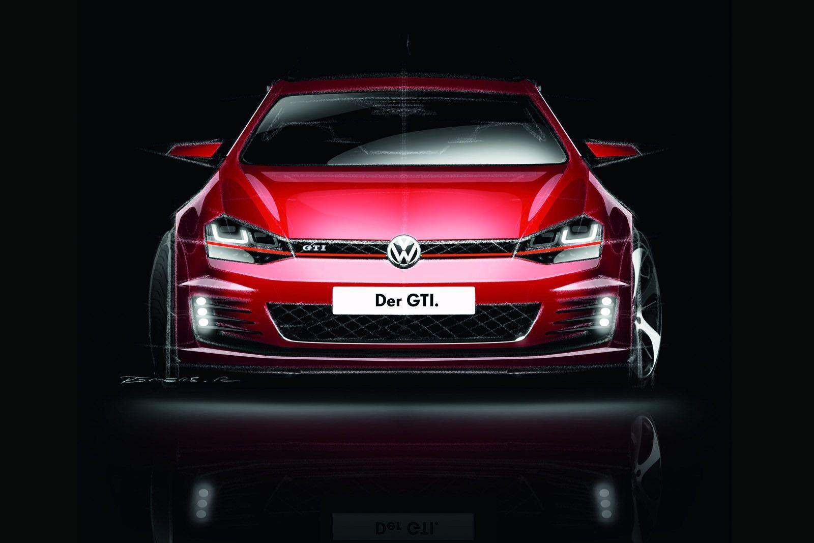 Volkswagen Golf GTI Mk7 wallpapers - Auto Power Girl