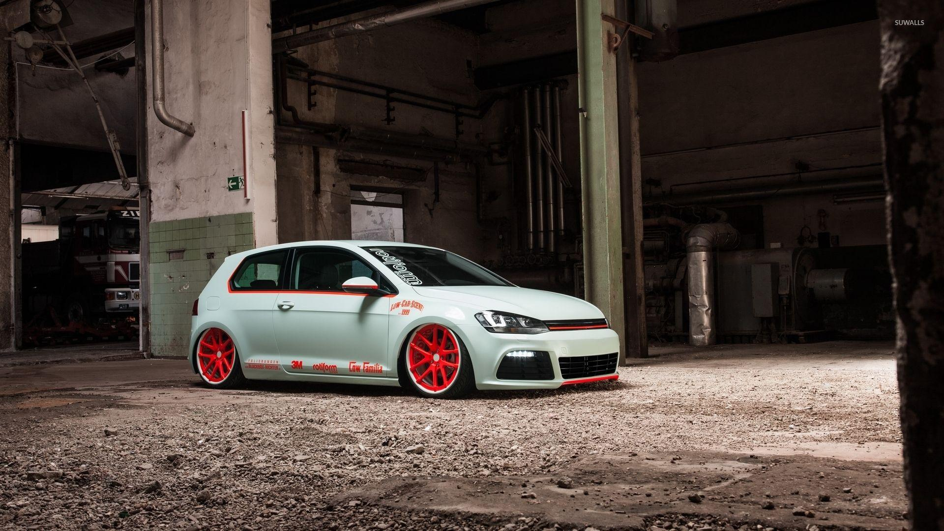 Volkswagen Golf Mk7 wallpaper - Car wallpapers - #45731
