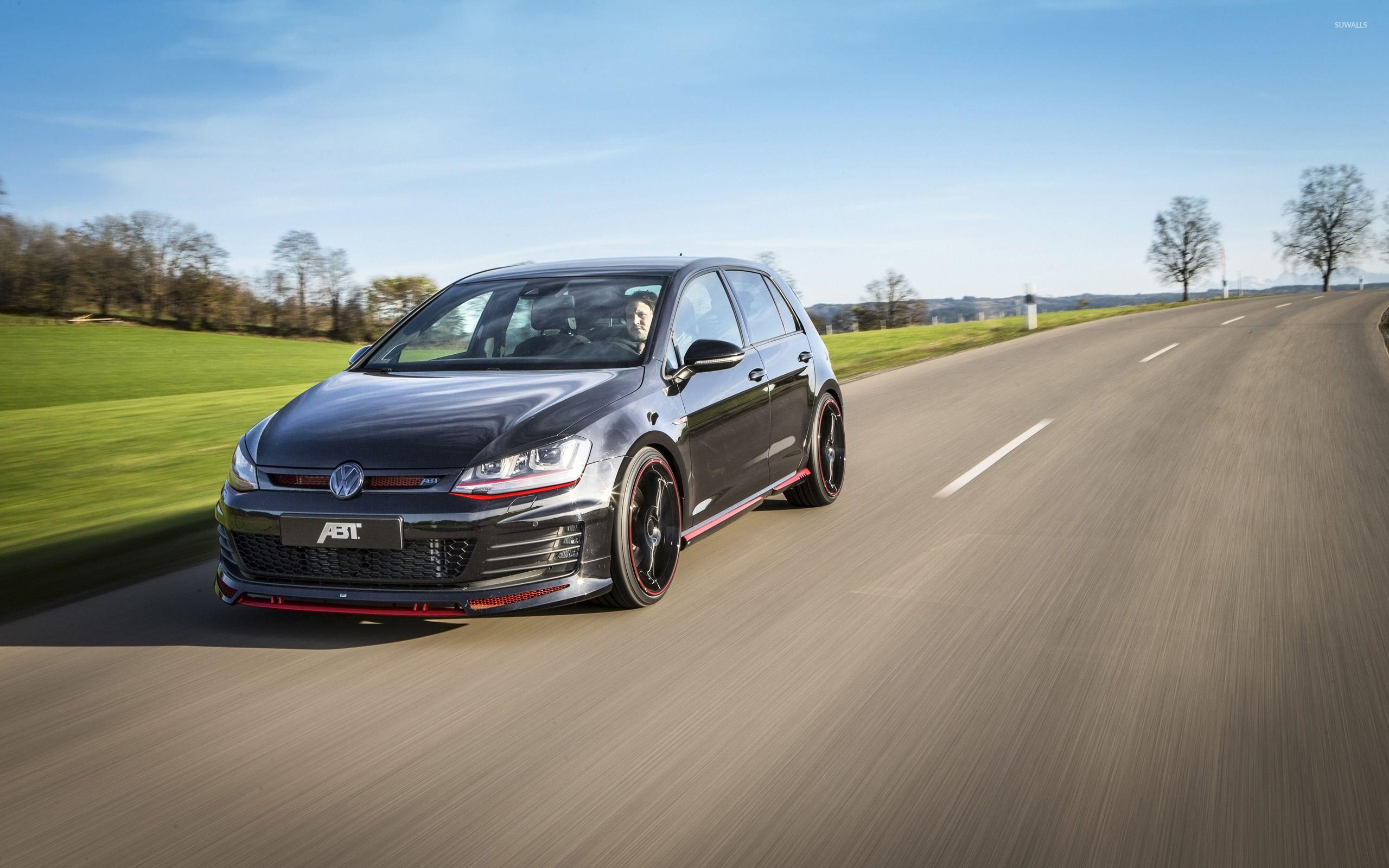 ABT Volkswagen Golf Mk7 VS4 on the road wallpaper - Car wallpapers ...
