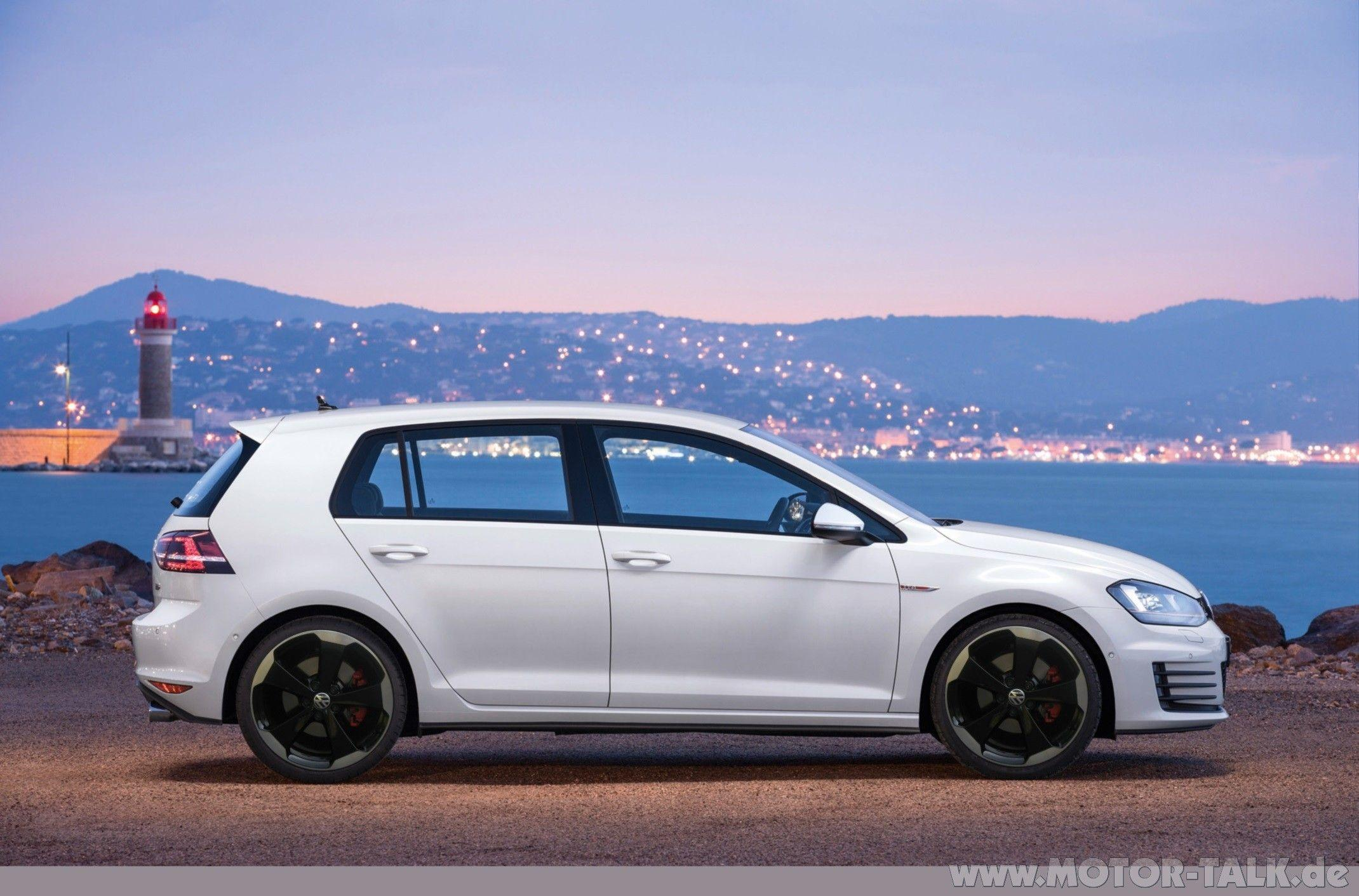 golf, VW Golf 7 GTI, GTI, Side View, Volkswagen Golf Mk7 Wallpapers ...