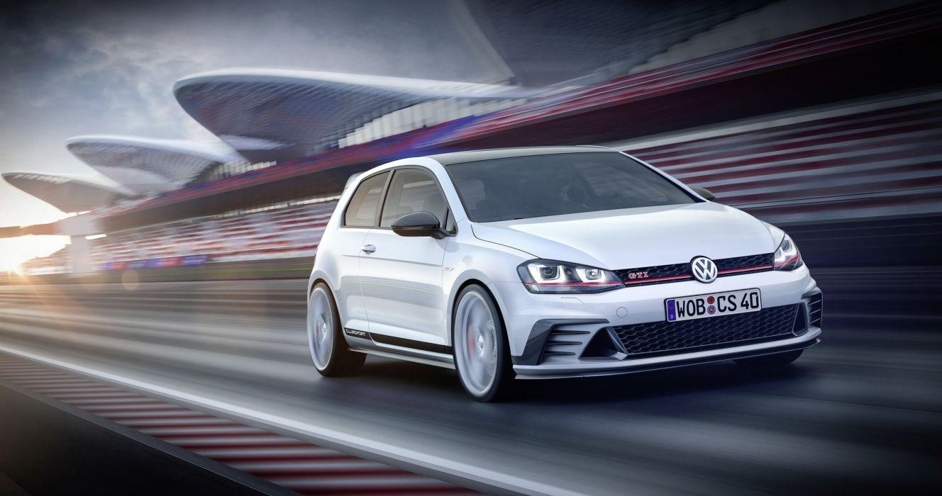 Volkswagen Golf GTI Clubsport Concept cars 2015 wallpaper ...