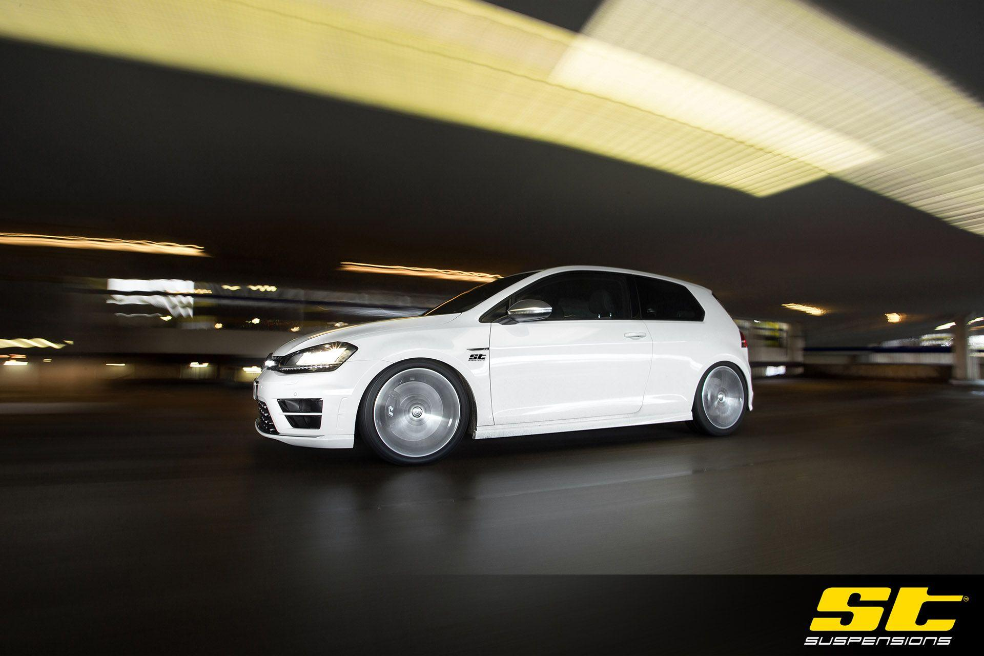 WALLPAPER: ST suspensions MK7 VW Golf R | KW Automotive Blog