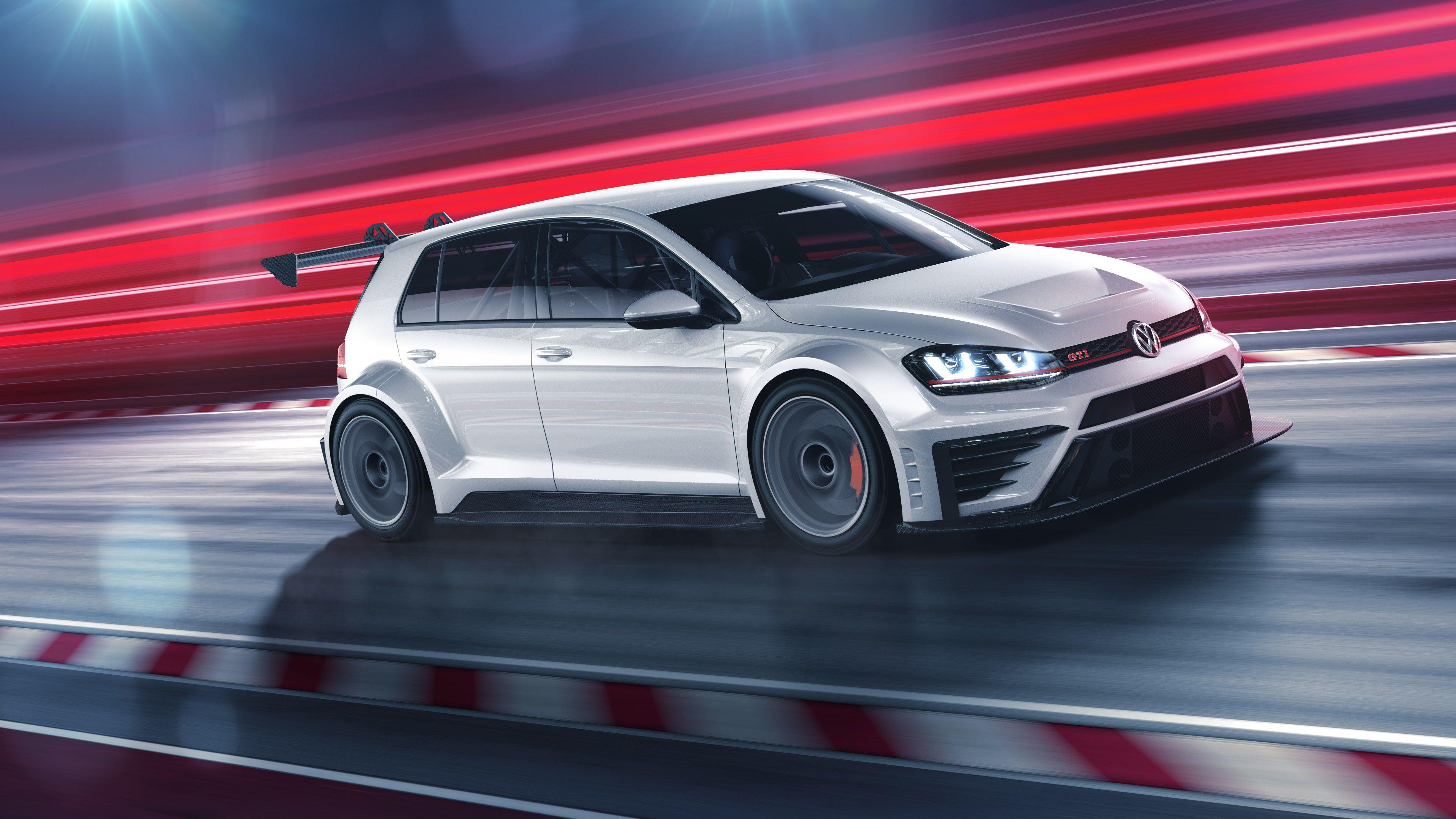 Volkswagen Golf GTi TCR 2016 4K Wallpaper | HD Car Wallpapers | ID #6303