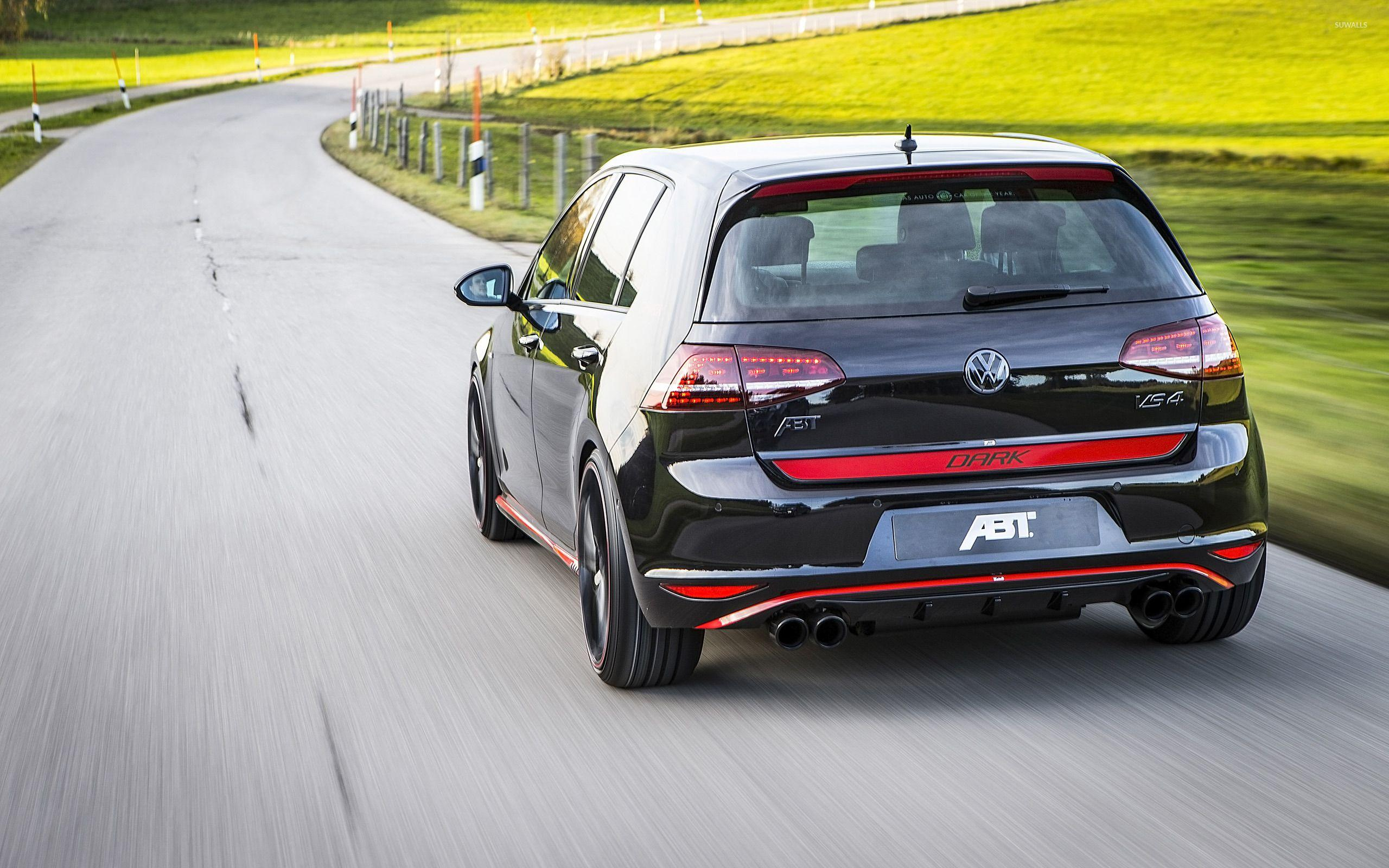 ABT Volkswagen Golf Mk7 VS4 back view wallpaper - Car wallpapers ...