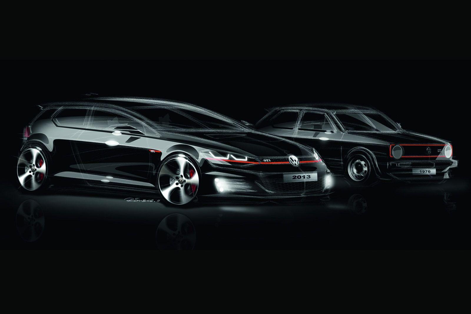 Volkswagen Golf GTI Mk7 2013 photo 97112 pictures at high resolution