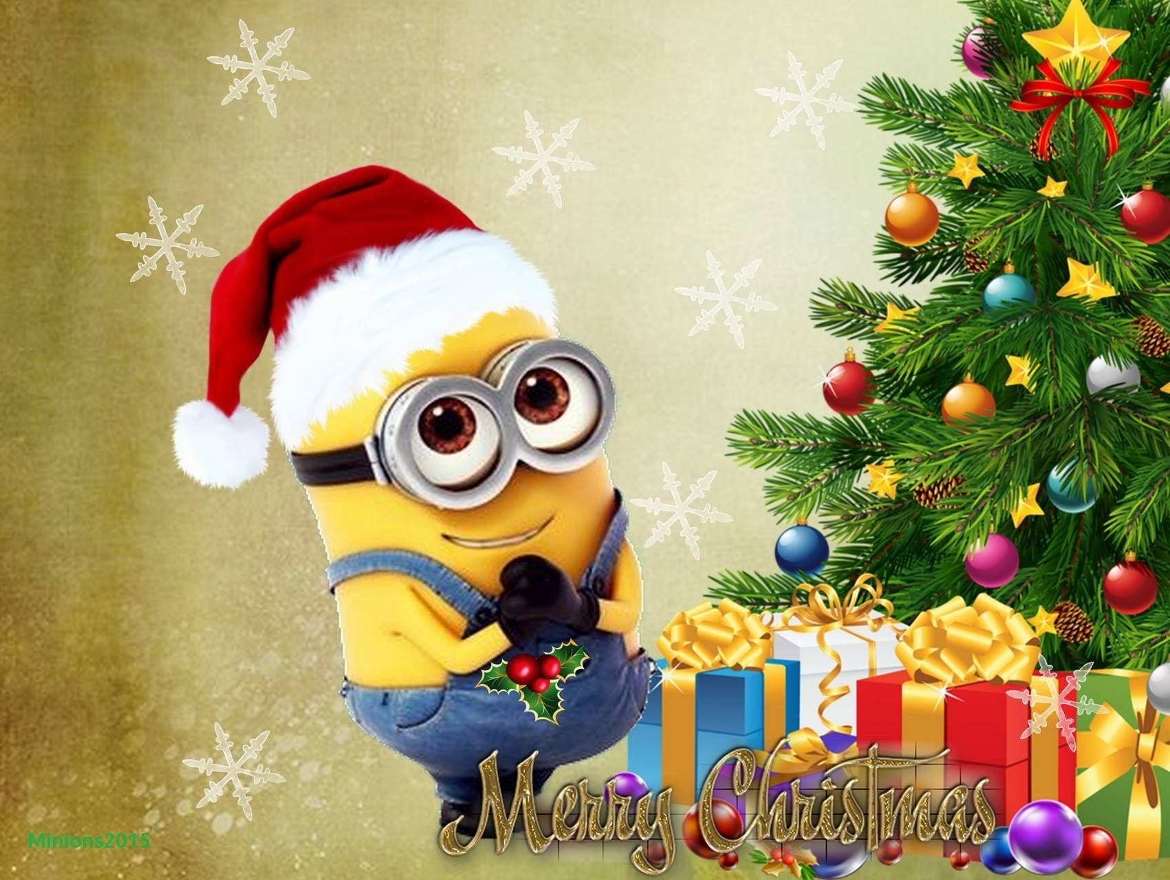 Funny Minion Merry Christmas Wallpapers Sayings: Minions Christmas Wallpapers