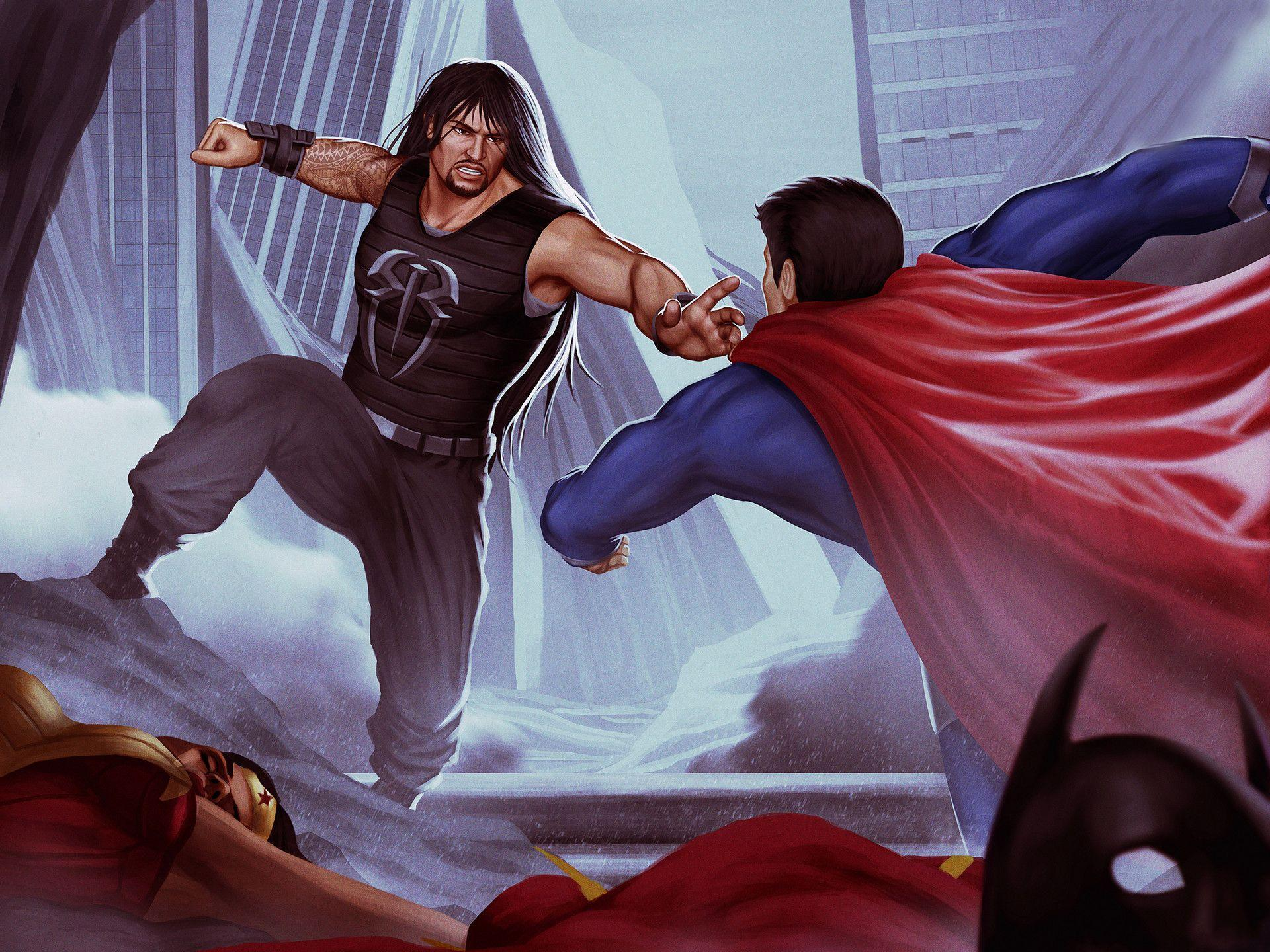 Superman Punch Wallpapers - Wallpaper Cave