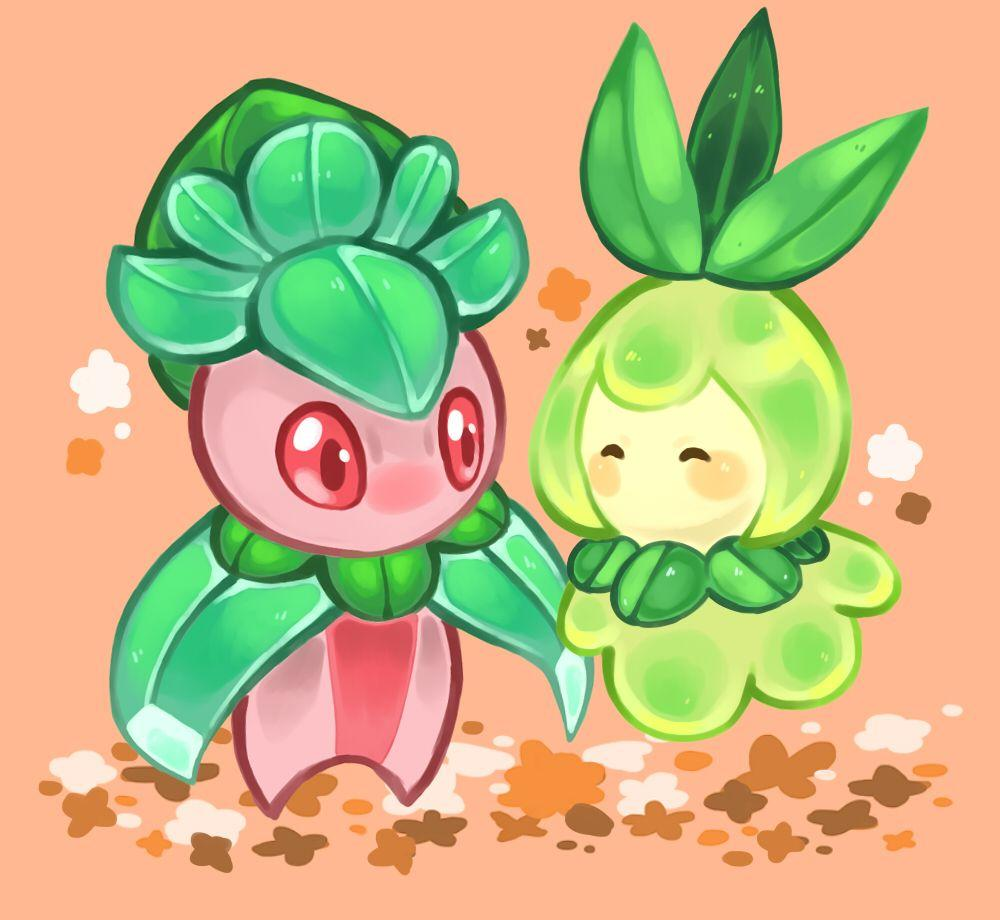fomantis & petilil | Petilil | Pinterest | Pokémon and Pokemon go