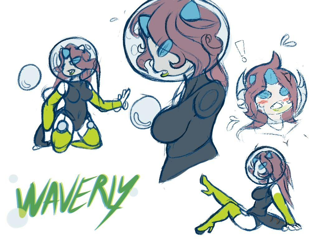 Sketch] Waverly the Araquanid by 4te -- Fur Affinity [dot] net
