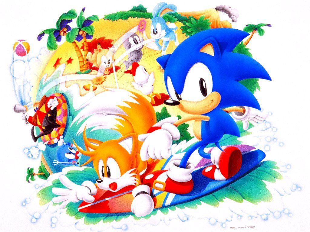 Classic Sonic Christmas Wallpapers Wallpaper Cave